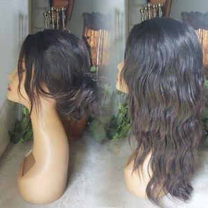 360 Wavy Human Hair Wig